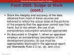 form 2055 scope of work cont2