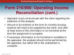 form 216 998 operating income reconciliation cont3