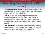 reporting conclusions in a bpo cont1