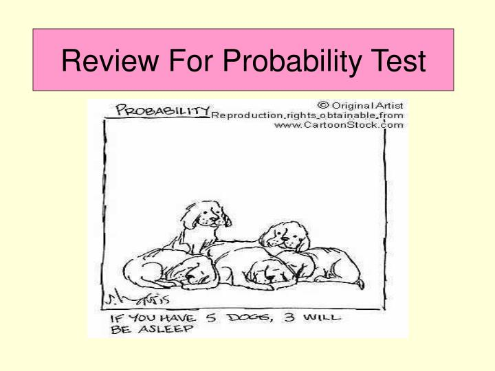 review for probability test n.
