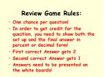 review game rules