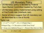 us monetary policy