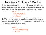 newton s 2 nd law of motion5