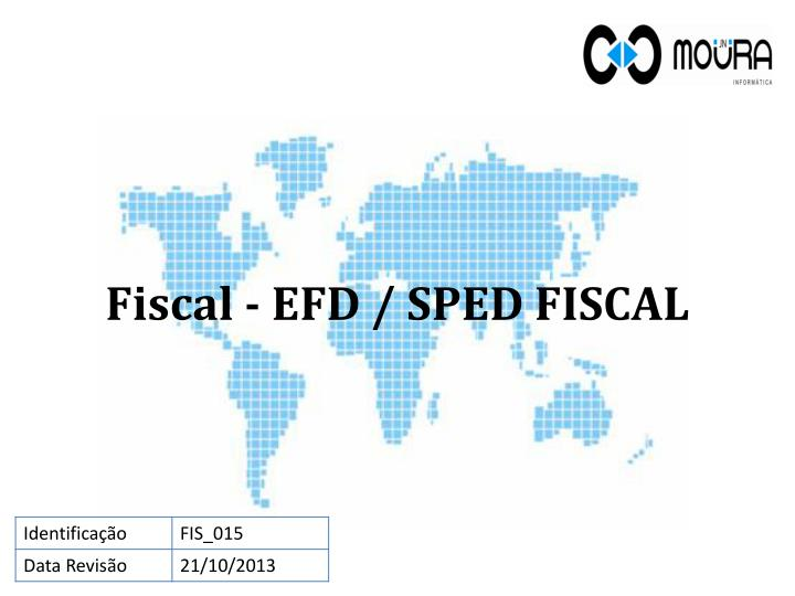 fiscal efd sped fiscal n.