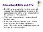 2 broadband isdn and atm