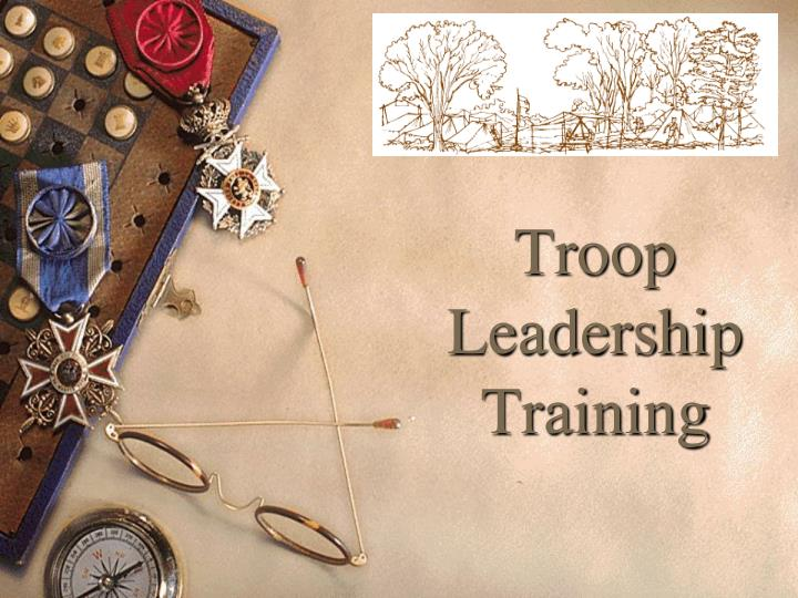troop leadership training n.