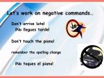 let s work on negative commands4