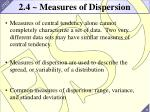 2 4 measures of dispersion