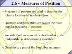 2 6 measures of position