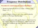 frequency distributions1
