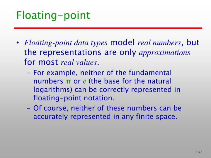 Floating-point