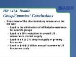 hr 3424 brattle group cummins conclusions