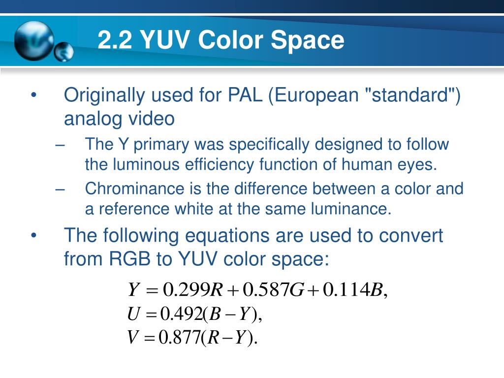 PPT - Performance Analysis of Color Components in Histogram