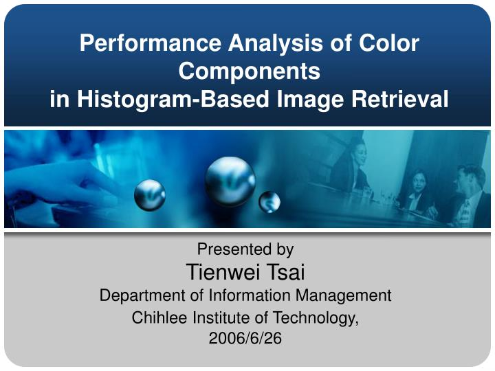 performance analysis of color components in histogram based image retrieval n.