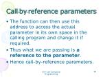 call by reference parameters1