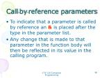 call by reference parameters2