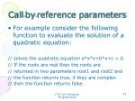 call by reference parameters3