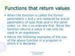 functions that return values3