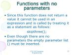 functions with no parameters2