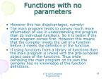 functions with no parameters5