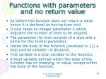 functions with parameters and no return value2