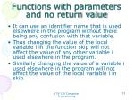 functions with parameters and no return value3