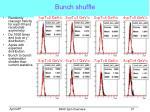 bunch shuffle