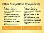 other competitive components