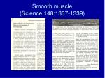 smooth muscle science 148 1337 1339