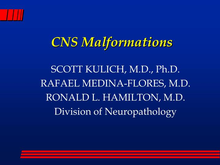 cns malformations n.