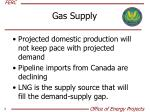 gas supply
