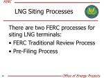 lng siting processes