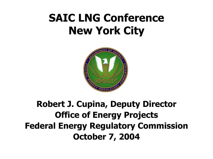 saic lng conference new york city n.