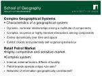 complex geographical systems