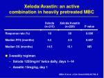 xeloda avastin an active combination in heavily pretreated mbc