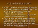 comprehension check2