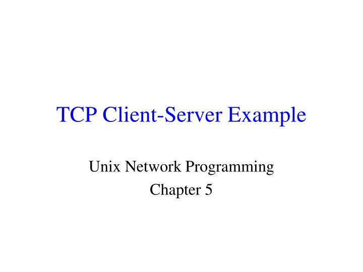 tcp client server example n.