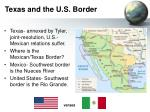 texas and the u s border
