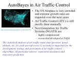 autobayes in air traffic control