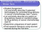 biomaterials courses biomaterials ii winter term1