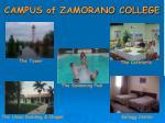 campus of zamorano college