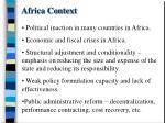 africa context