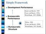 simple framework