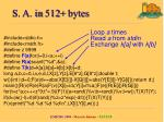 s a in 5 12 bytes2