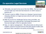 co operative legal services