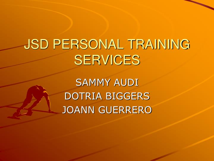 jsd personal training services n.