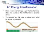 6 1 energy transformation4