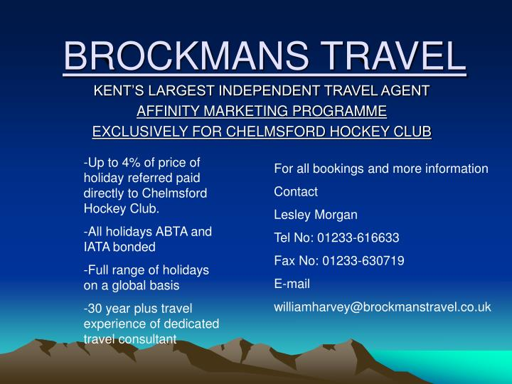 brockmans travel n.