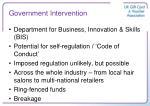 government intervention1