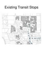 existing transit stops